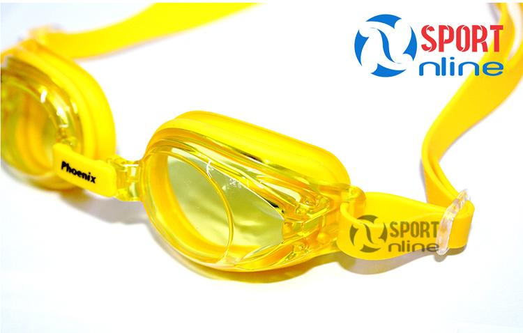 Kính bơi Phoenix PN-506 màu vàng
