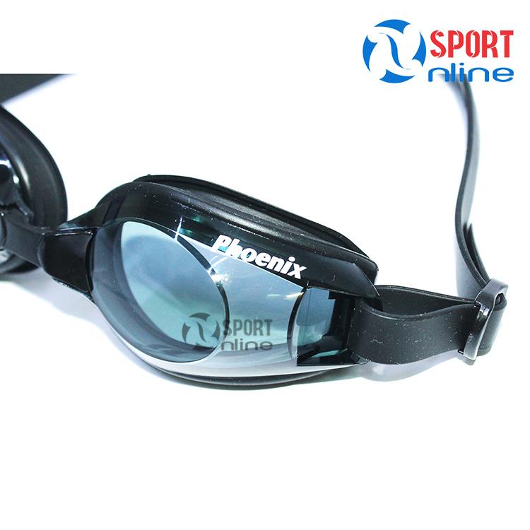 Kính bơi Phoenix PN-401 màu đen