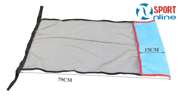 kích thước lưới phao bơi xốp dạng ghế
