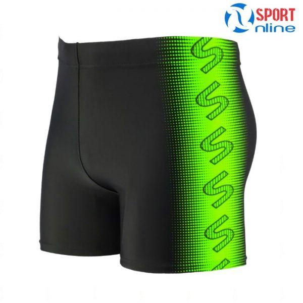 quần bơi nam M-1801 phối xanh lá