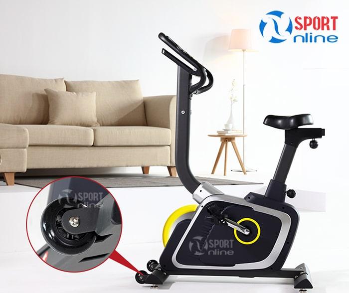 bánh xe di chuyển của Xe đạp tập thể dục DLE-42811B