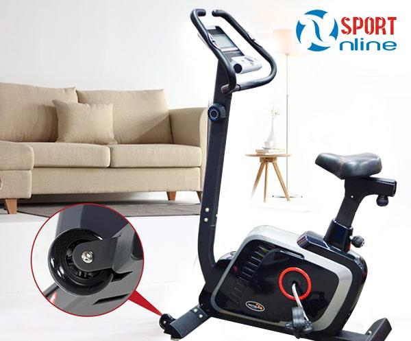 bánh xe di chuyển của xe đạp tập thể dục DLE-42816B
