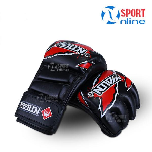 Găng tay MMA Wolon M4 màu đen