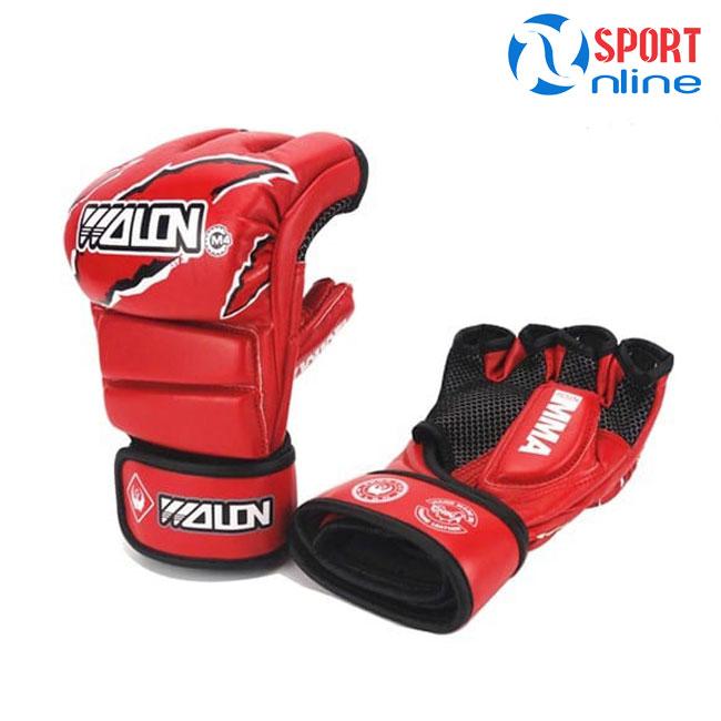 Găng tay MMA Wolon M4 màu đỏ