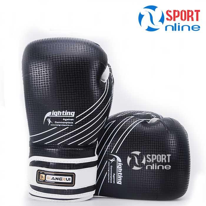 Găng đấm Boxing Kangrui KB334 màu đen