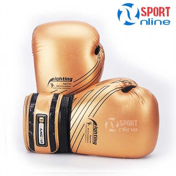 Găng đấm Boxing Kangrui KB334 màu đồng