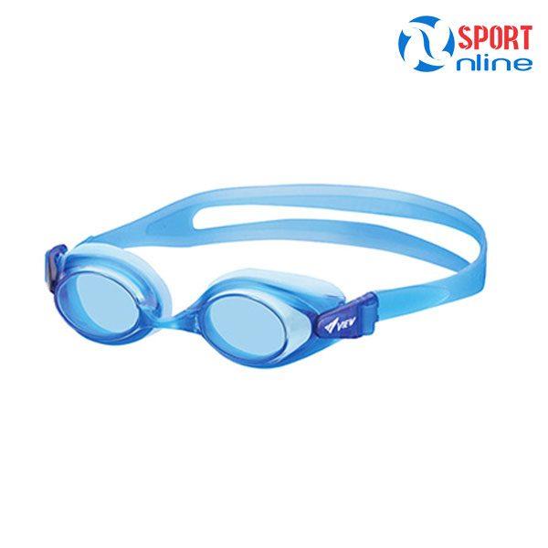 Kính bơi cận trẻ em View V740SOP màu xanh