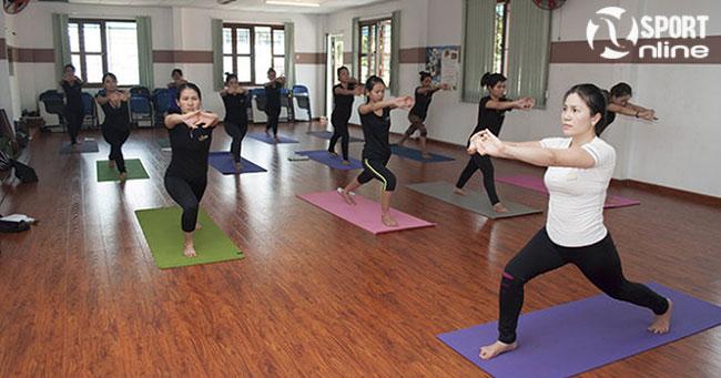 Thảm tập yoga giúp tránh chấn thương trong quá trình tập luyện