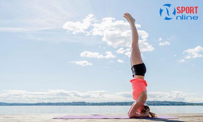 Thảm tập yoga giúp đảm bảo vệ sinh