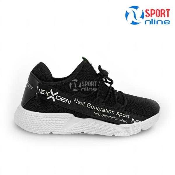 Giày chạy bộ nam Nexgen NX-18666 màu đen