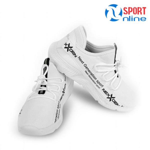 Giày chạy bộ nam Nexgen NX-18666 màu trắng