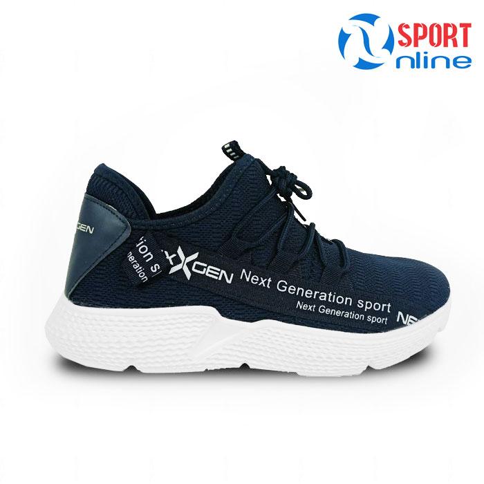 Giày chạy bộ nam Nexgen NX-18666 màu xanh navy