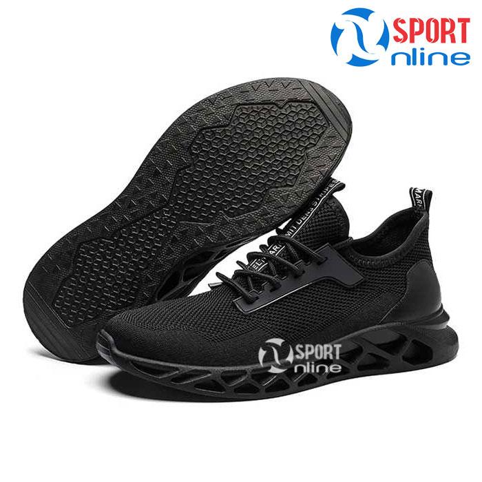Giày thời trang thể thao nam TD19 đen