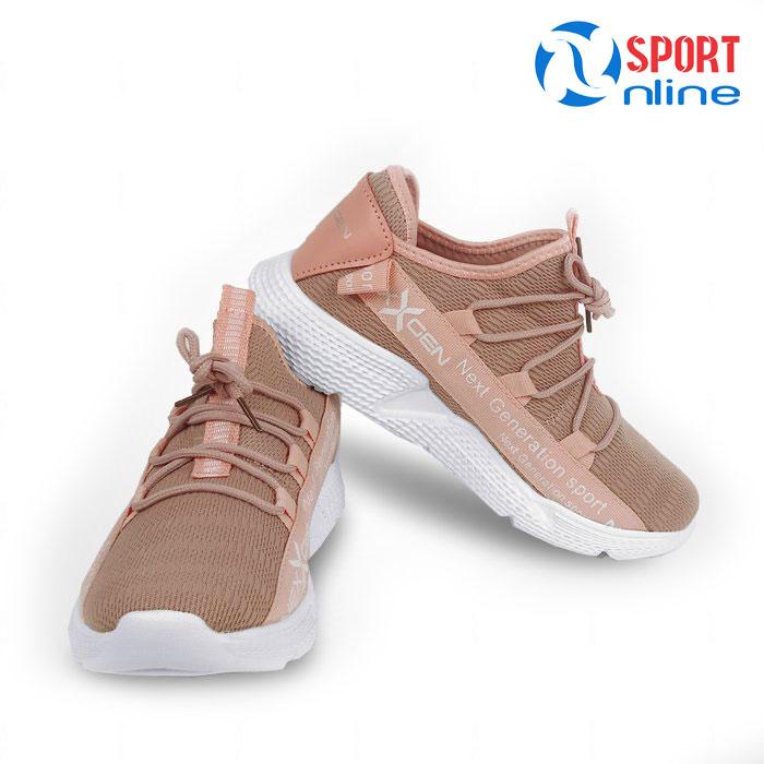Giày thể thao nữ Nexgen NX-18666 màu hồng phấn