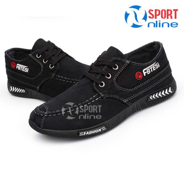 Giày thời trang thể thao nam FB TESI đen