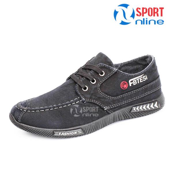 Giày thời trang thể thao nam FB TESI ghi xám