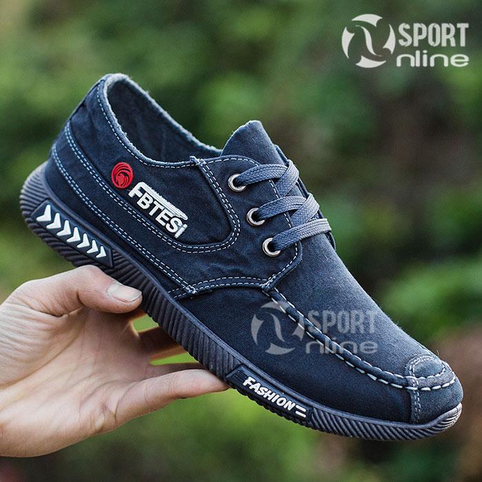 Giày thời trang thể thao nam FB TESI xanh navy