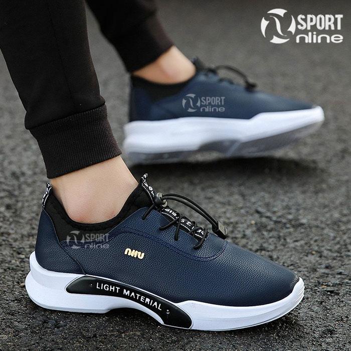 Giày thời trang thể thao nam MIN-01 màu xanh navy