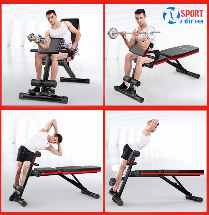 Ghế tập gym đa năng AD-189