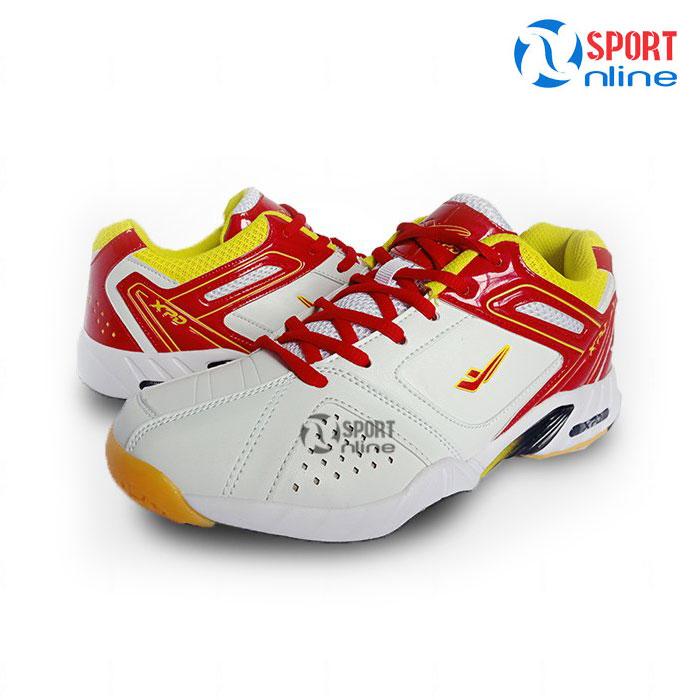 Giày cầu lông nam XPD 803 Trắng Đỏ
