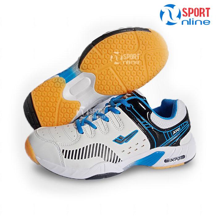Giày cầu lông nam XPD 855 white-blue