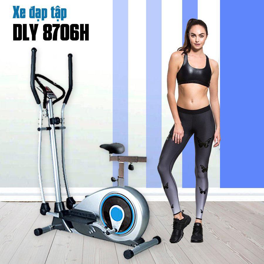 Thông tin chi tiết sản phẩm Xe đạp tập thể dục DLY-8706H