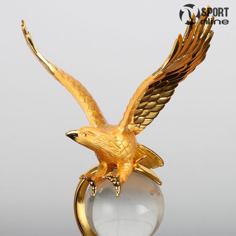 Cúp lưu niệm pha lê chim đại bàng PL-008