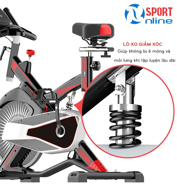 chi tiết Xe đạp tập thể dục Fuji Luxury M100