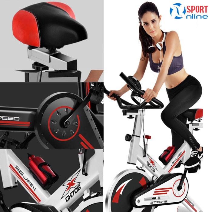 Xe đạp thể dục GH-706
